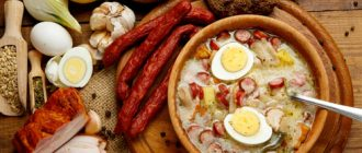 Знакомство с польской кухней