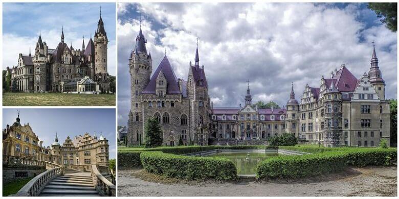 Достопримечательность Польши Мошненский замок