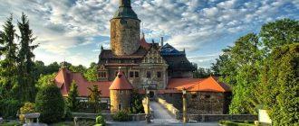 Польский легендарный замок Чоха