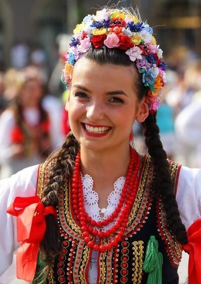 Национальный костюм Польши