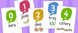 Польские цифры от 1 до 1000 - счет и транскрипция