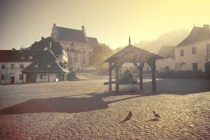 Исторический польский город Казимеж Дольны