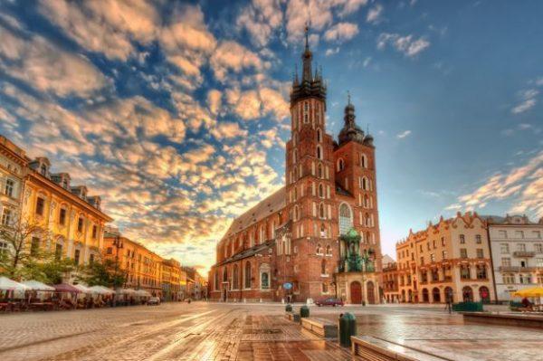 Волшебный польский город Краков